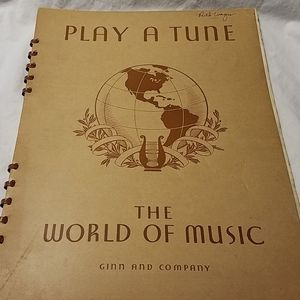 Other - Vintage music book 1936